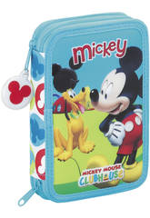 Plumier Doble 34 Mickey Clubhouse
