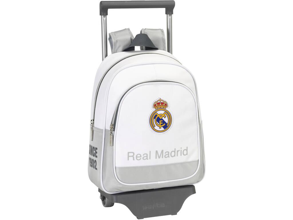 Mochila Infantil com Rodas Real Madrid