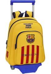 Sac à dos pour Enfants avec Trolley F.C Barcelone 2ème Equipement
