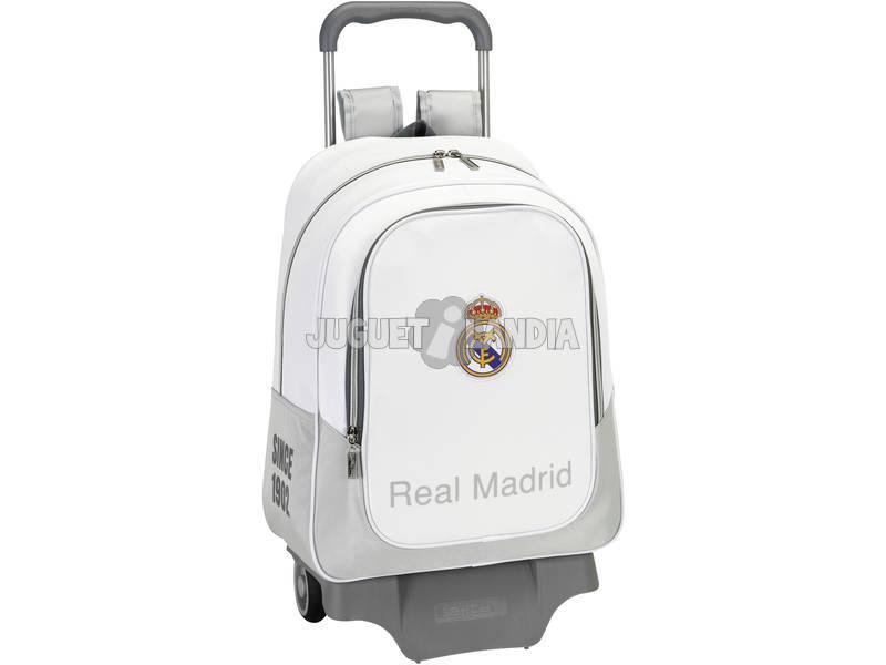 Mochila Grande con Ruedas Real Madrid