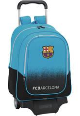 Mochila Grande con Ruedas F.C. Barcelona Blu