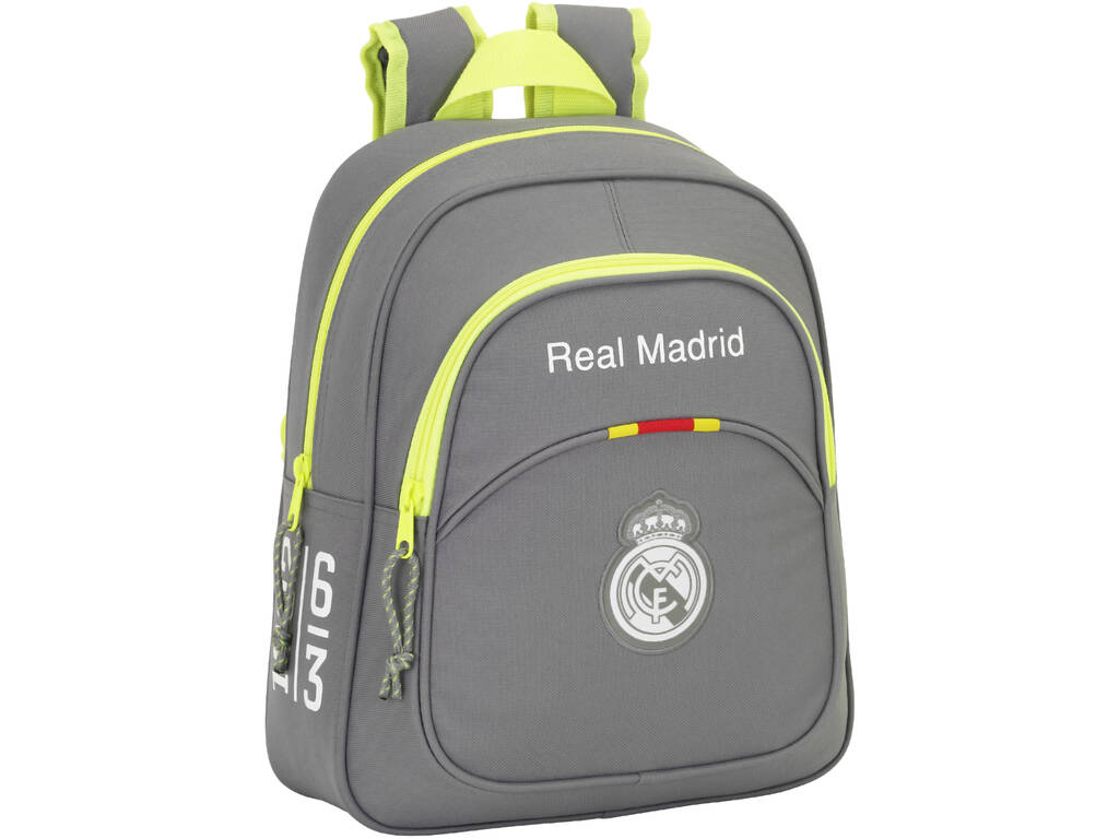 Mochila Infantil Real Madrid Grey