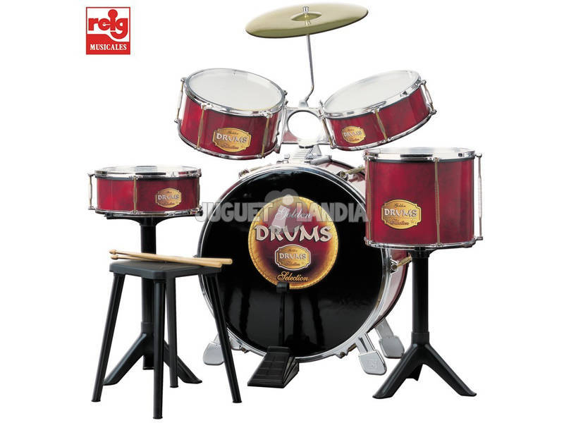 Bateria musical Golden Drums Claudio Reig 726