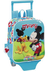 Mickey Club House Mochila Guarder�a con Ruedas