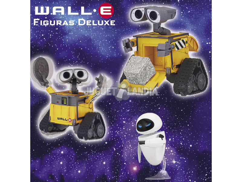 Wall-E Figurines Deluxe