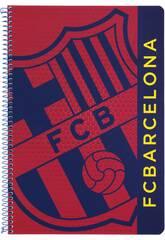 Libreta Folio Tapas Duras 80 h. F.C. Barcelona