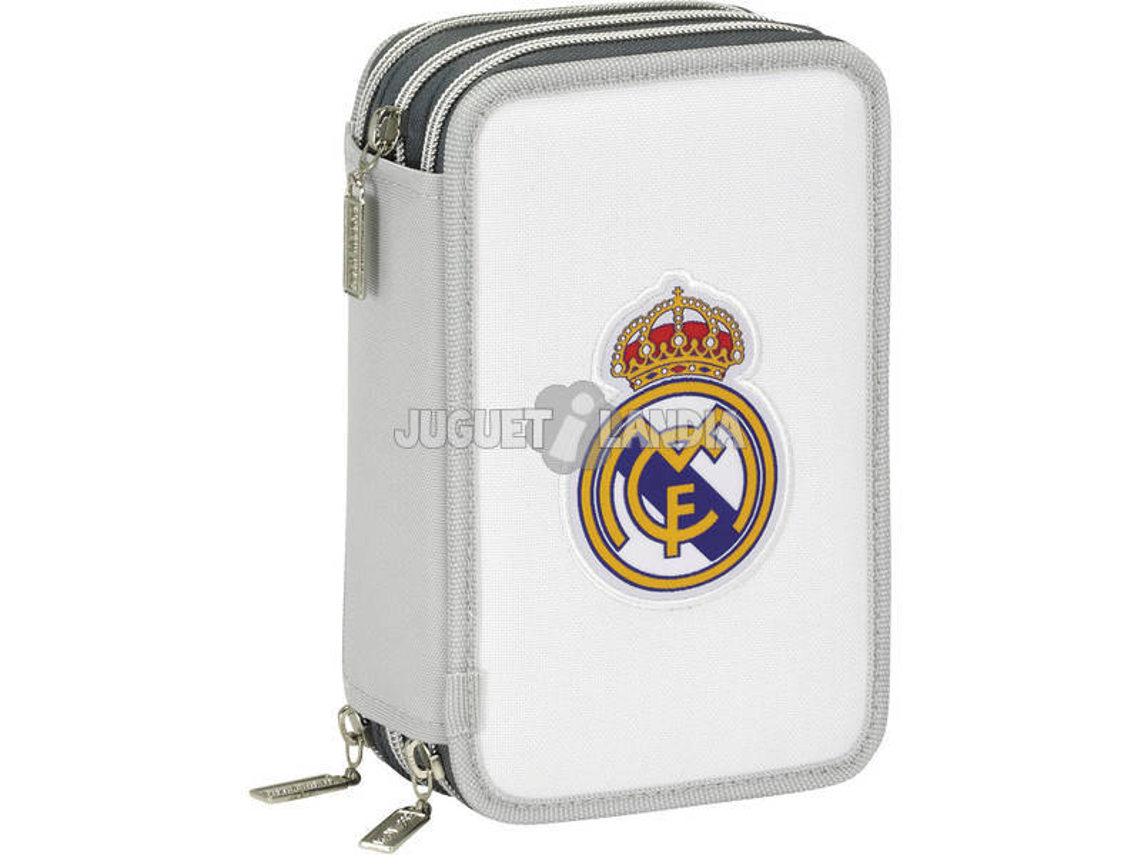 Plumier Triple 41 Piezas Real Madrid