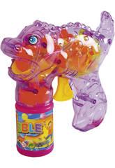 Pistola De Burbujas 16 cm. Con Luz y Sonido