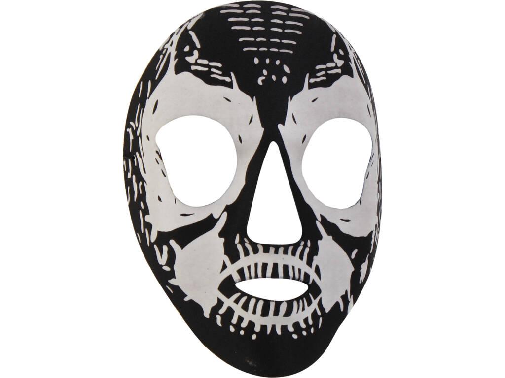 Mascara Fosforescente Negra Verde