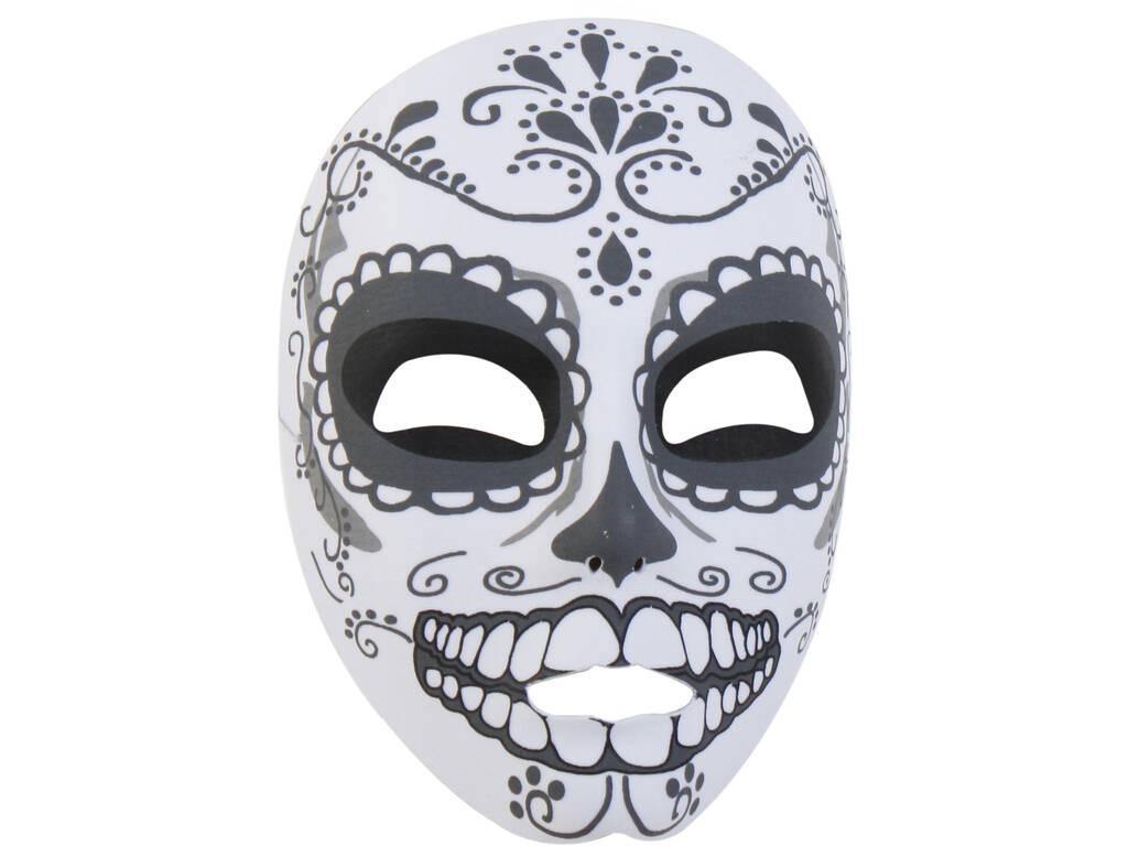 Máscara Katrina Dentes Branca e Preta