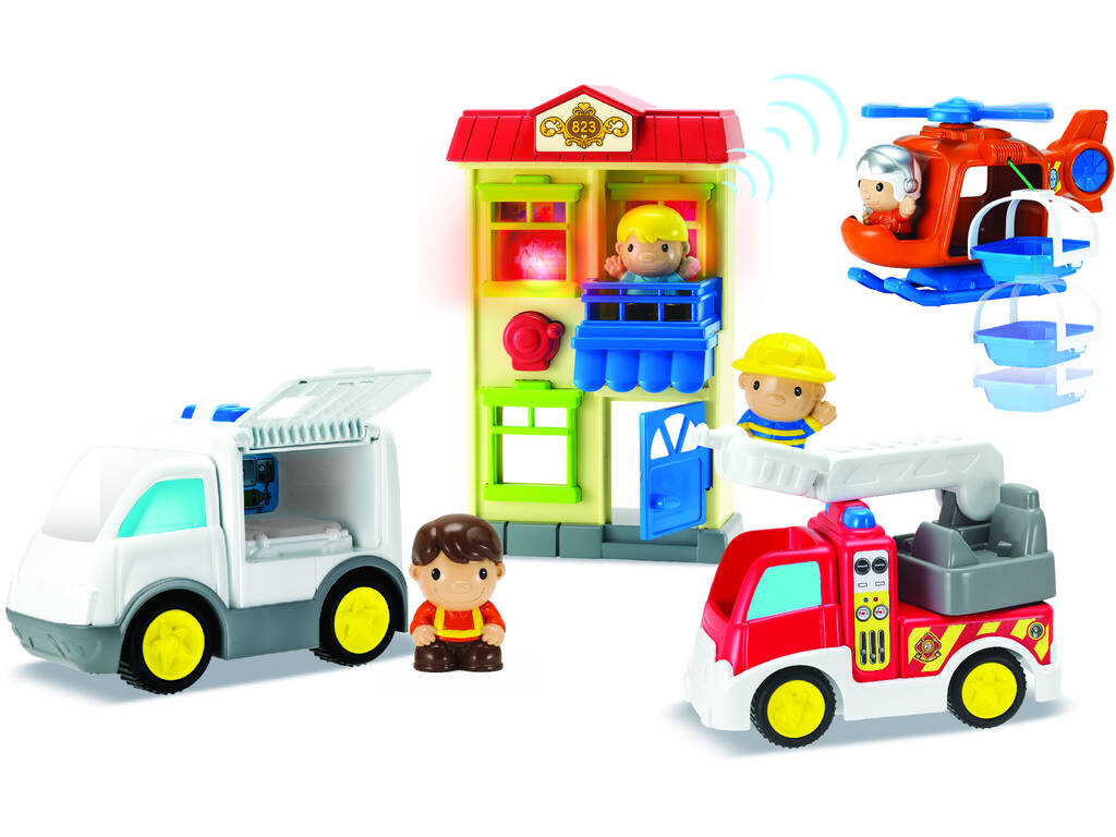 Playset Resgate City Heroes