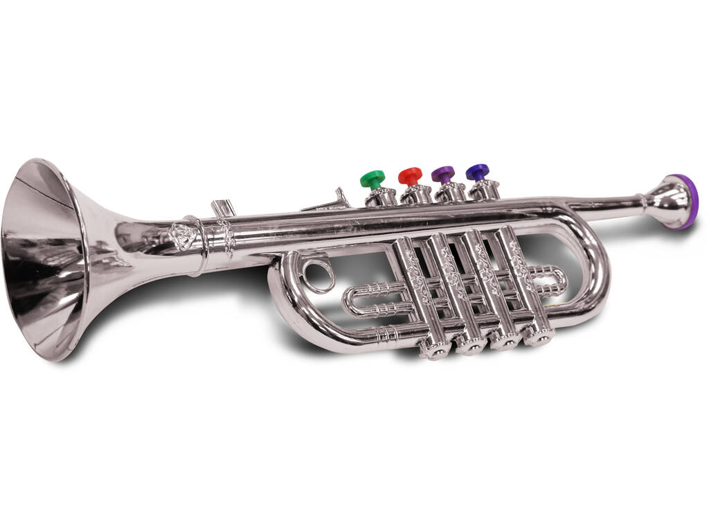 Trompeta Metalizada 42 cm.