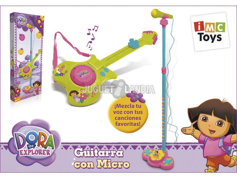 Guitarra con micro Dora