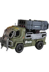 Soldier Force Camion Lance  Missiles Avec Figurines