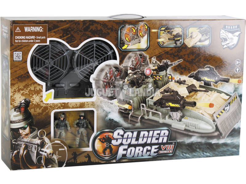Soldier Force Overcraft con Figuras