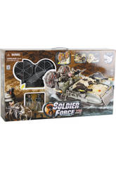 Soldier Force Overcraft Avec Figurines