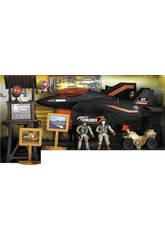 Soldier Force Avión con Figuras y Accesorios