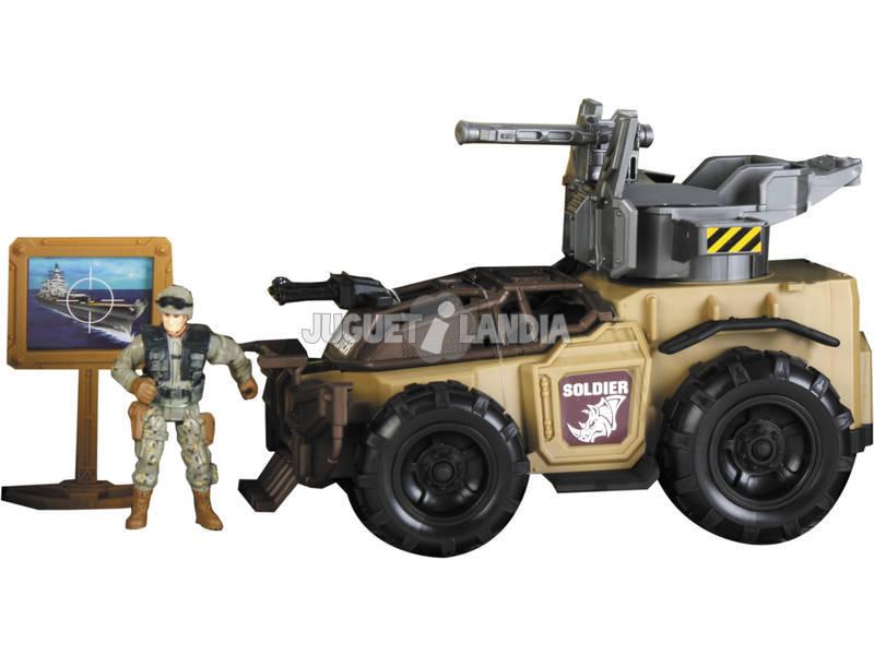 Soldier Force Vehículo Lanzamisiles con Figura