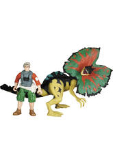 Dino Valley Dinosaurio con Figura y Accesorios
