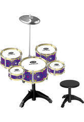imagen Bateria Jazz 5 Tambores y Platillo