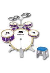Bateria Jazz 5 Tambores e 3 Pratos