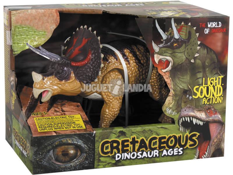 Triceratops Andador 25 cm.