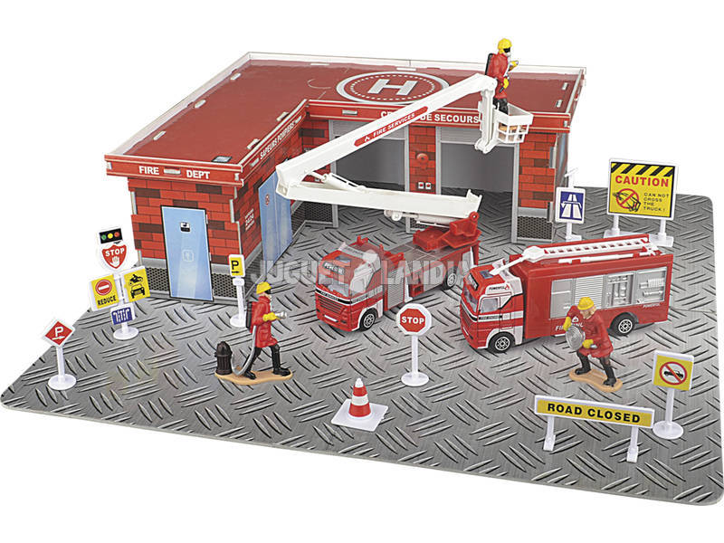 Camião de Bombeiros com Acessórios 33 peças