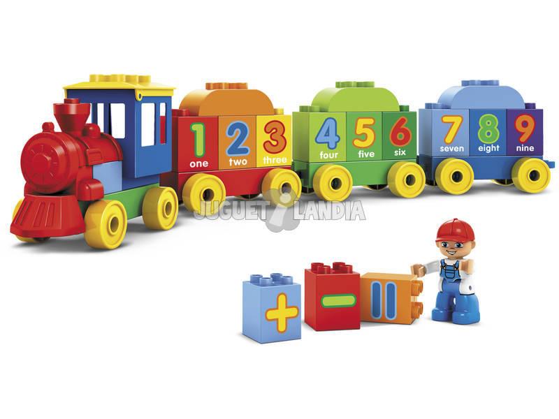 Tren con 45 Bloques Construccion