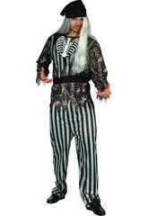 imagen Disfraz Pirata Malvado Hombre Talla M