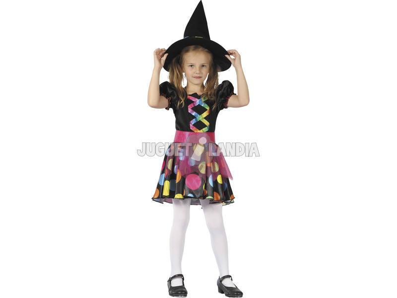 Disfraz Bruja Bonita Niña Talla M