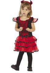 Costume Diavoletto Ragnatela Bimbo M
