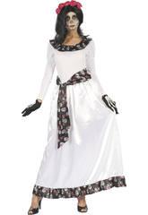 Disfraz Novia Muerta Mujer Talla M