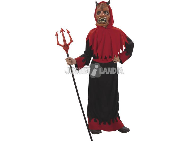 Maschera Guerriero Demonio Bambino Taglia XL