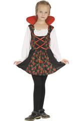Disfraz Vampiresa Niña Talla M