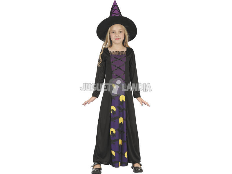 Disfraz Bruja Buhos Niña Talla XL