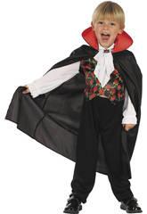 imagen Disfraz Vampiro Rosas Bebé Talla S