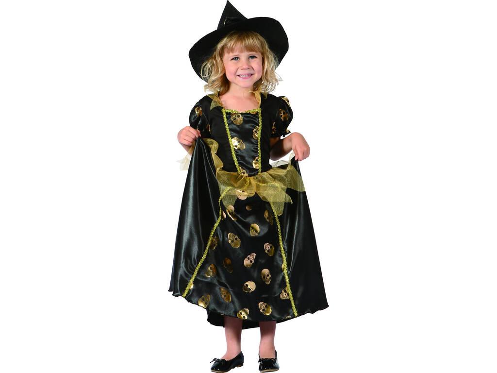Costume Streghetta Teschi Bebè S