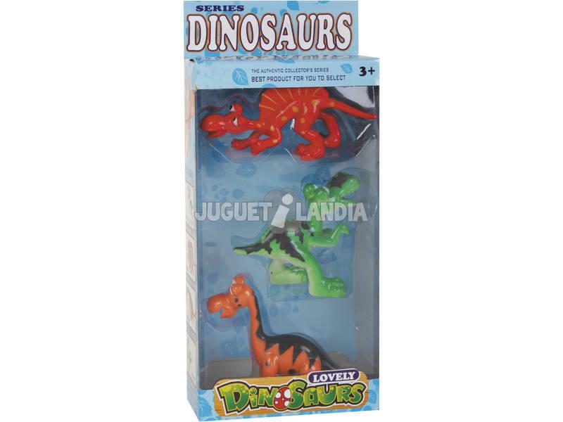 Dinossauros Diver Set 3 Unidades