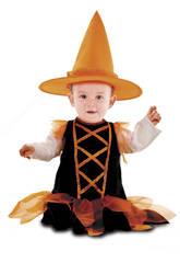 Costume Bebè L Streghetta Arancione