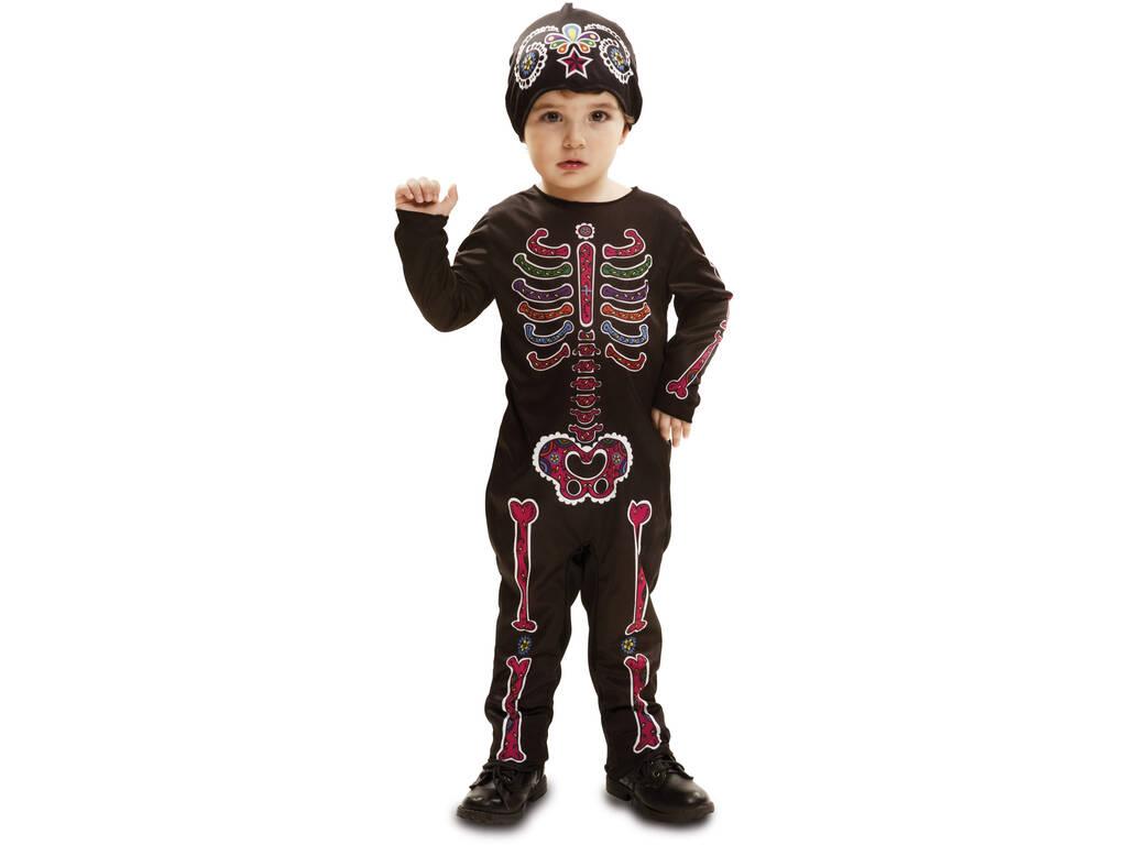 Fantasia L Bebé Esqueleto Dia dos Mortos