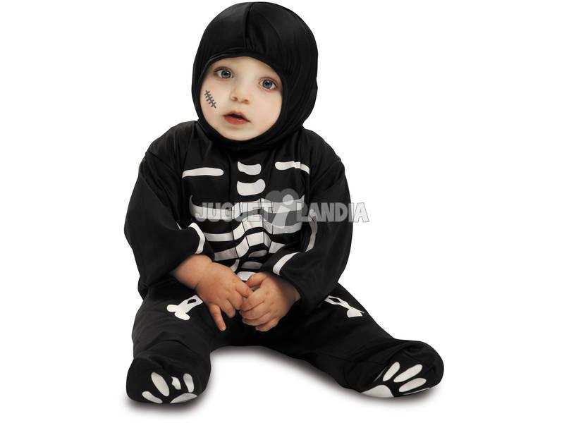 Costume Bebè M Scheletro