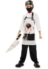 imagen Disfraz XL Niño Doctor Killer