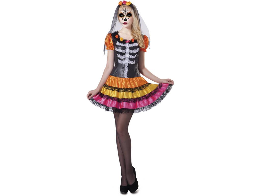 Disfraz S Mujer Catrina Esqueleto