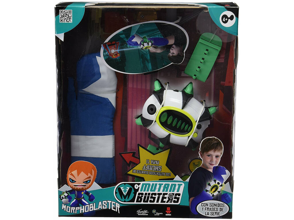 Acessórios Mutant Busters Morphoblaster Famosa 700012964