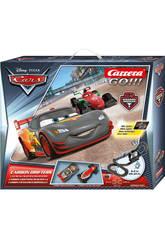 Circuito Go 1:43 Cars Carbon Dr. con Luz 6.2 m