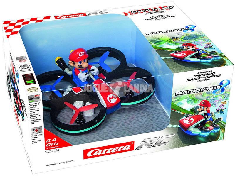 Radio Control Drone Mario Copter 4 Canales Carrera 503007