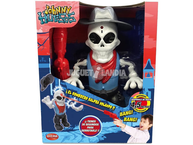 Zombie Mundo Monster Johnny Huesos Bizak 6307 0537