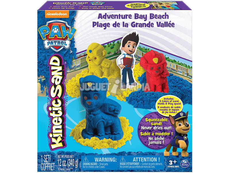 Patrulla Canina Kinetic Sand Mega Pack