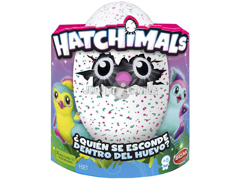 Hatchimals Pinguino Verde