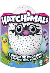 Hatchimals Pingüino Verde